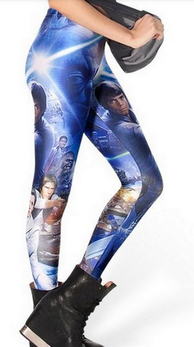 Star War Galaxy Leggings