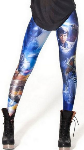 Star War Galaxy Leggings