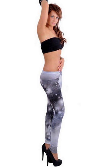Galaxy black Space Leggings