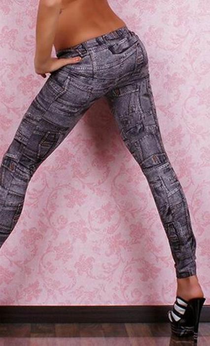 Fashion Graffiti Seamless Leggings