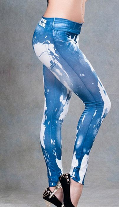 Modern Tattoo Printing Leggings