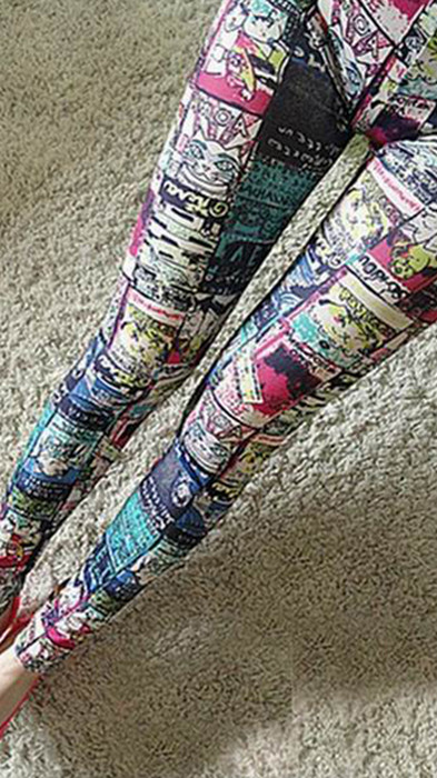 Maneki Neko Tatoo Printing Leggings
