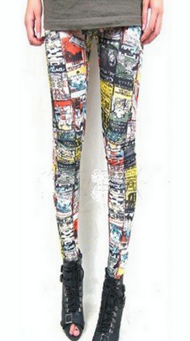 Maneki Neko Tatoo Printing Leggings