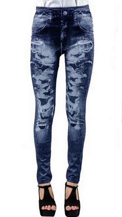 Broken style Jeans Jeggings Leggings