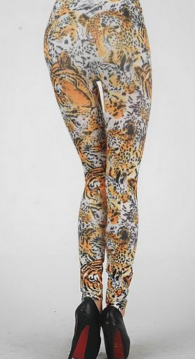 Tiger Printed Leggings
