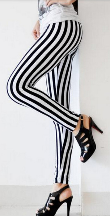 Zebra Stripes leggings