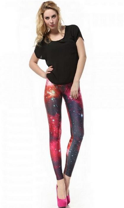 Galaxy Red Planet Leggings