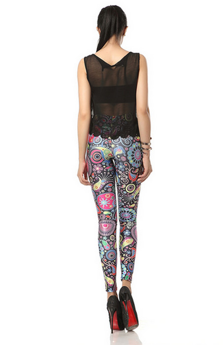 Geometry Galaxy Printed Leggings