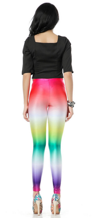 Colour Galaxy Palette Leggings