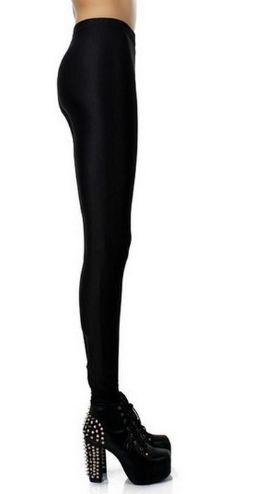 Svart Celebrity Style Leggings