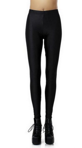 Svart Celebrity Style Leggings