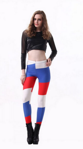 World Cup 2014 Russia Flag Leggings