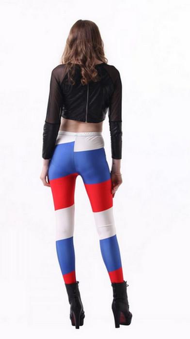 World Cup 2014 Russia Flag Leggings – Leggings Tights ...