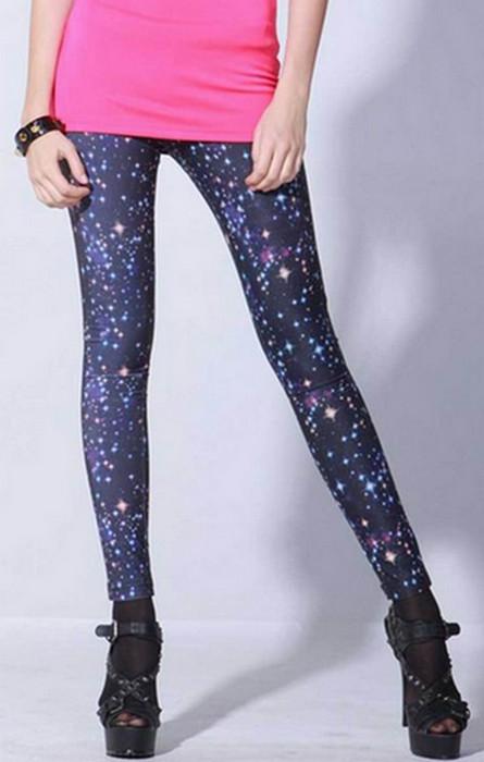 Galaxy Cosmic Space Leggings