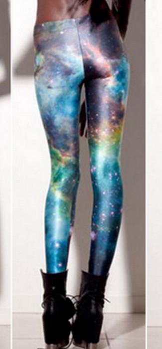 Galaxy Fancy Patterned Leggings