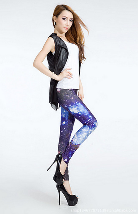 Galaxy Star Away Leggings