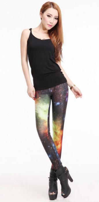Galaxy Space Contrast Leggings