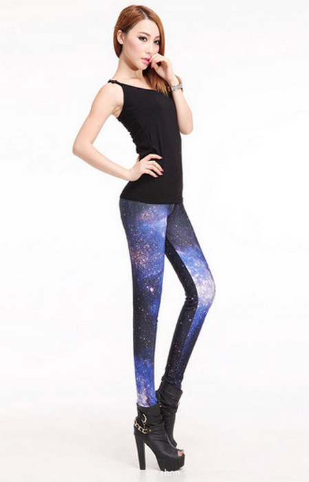 Galaxy Space Starshiny Leggings