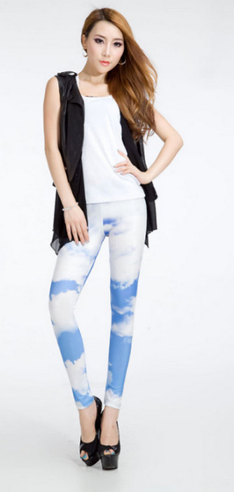 Galaxy Clouds Original Leggings