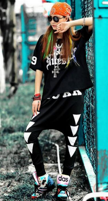 Punk Rock Hip Hop Haremsbyxor
