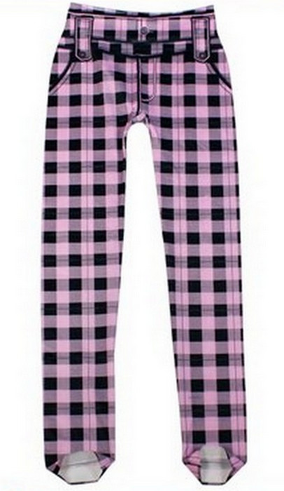 Fashion Plaid Retro Leggings