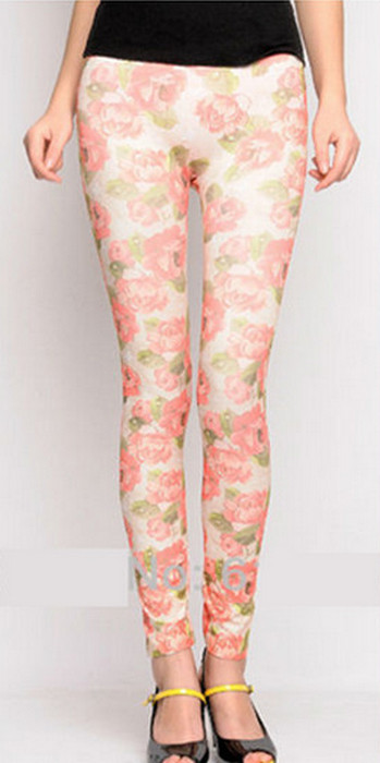 Rosa Blom Print Leggings