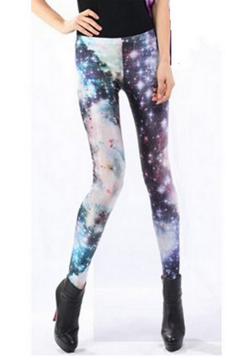 Galaxy Cosmos Star Leggings