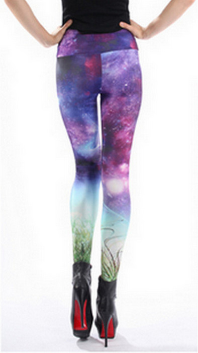 High Waist Galaxy Dream Flexible Leggings