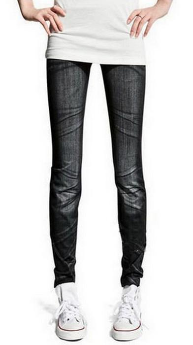 Seamless Jeans Jeggings Leggings