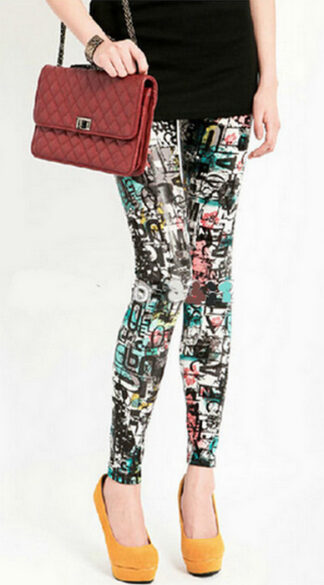 Tattoo Printing Leggings