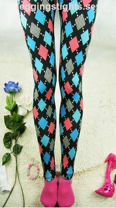 Multicolor Dimond Leggings