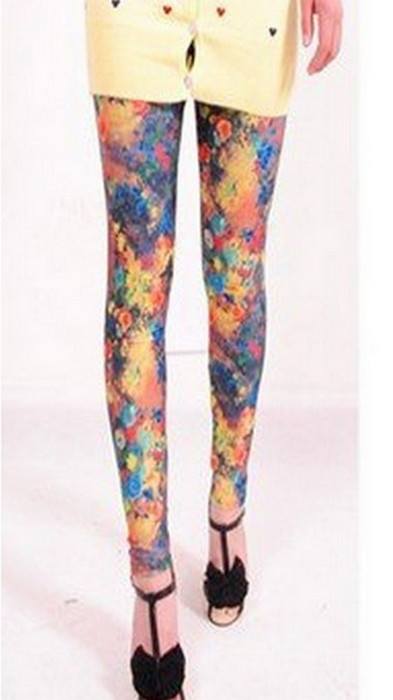 Rimmobilisation Color Printing Leggings