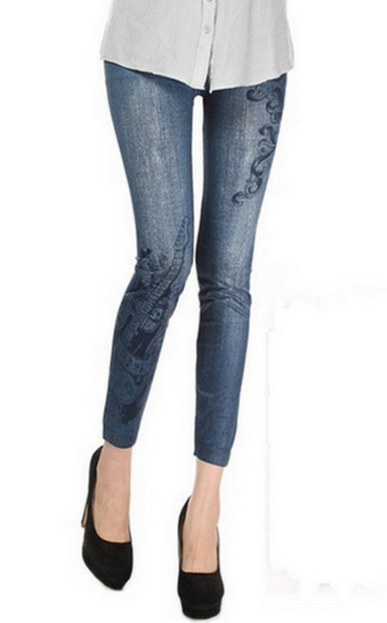 Gitarr Seamless Jeans Jeggings Leggings