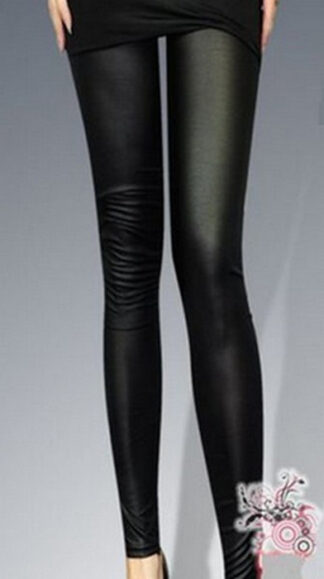Western Style Show Thin Imitation Leggings