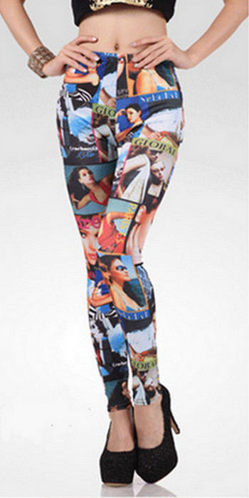 Movie Maker Printing Leggings