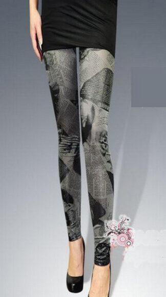 Western Style Imitation Leggings