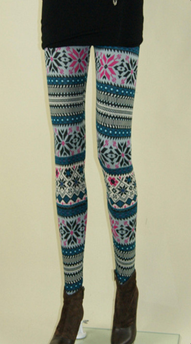 Geometrisk Print Leggings