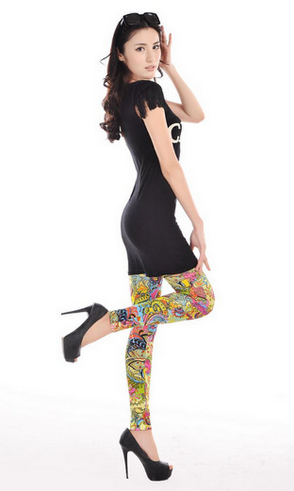 Amazing Pattern Ladies Leggings