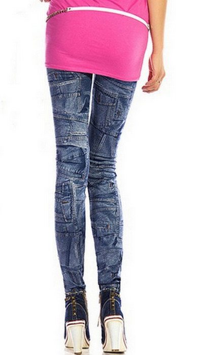 Pouch Seamless Jeans Jeggings Leggings