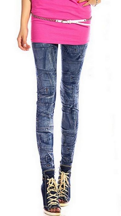 Pouch Seamless Jeans Jeggings Leggings