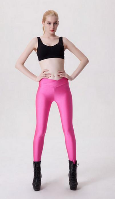 Pink Yoga Sports Leggings