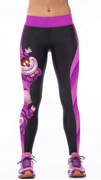 Tanuki Printed Yoga Sports Leggings