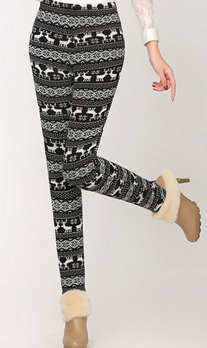 Moose Winter Thick Leggings