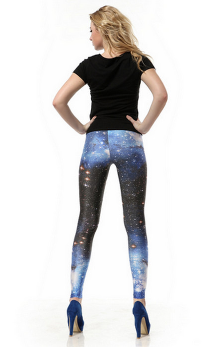 Night In Space Galaxy leggings