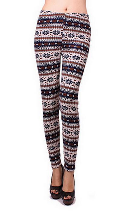 Asterisk Winter Thick Leggings