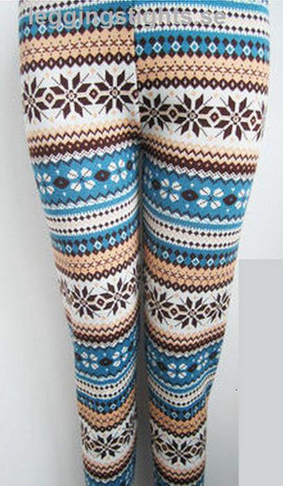 Flera Kombination Färg Winter Leggings